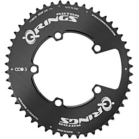 Rotor Q-Ring Road Aero OCP3 Drev 110mm ytterside Svart